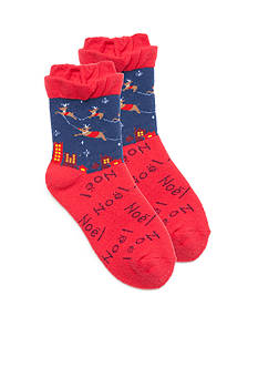 New Directions® Cloud Nine Holiday Slipper Socks