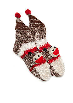 New Directions® Sock Monkey Slippers