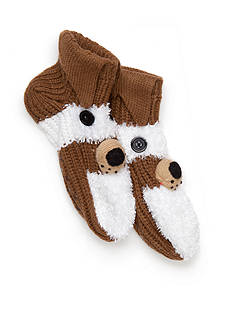 New Directions® Hand Crafted Dog Slippers - Single Pair