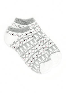 New Directions® Low Cut Graphic Duo Layer Slipper Socks - Single Pair
