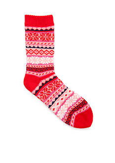 New Directions® Holiday Sweater Slipper Socks - Single Pair