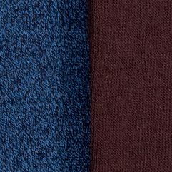 Kim Rogers Clothing Accessories: Navy/Brown Twish Kim Rogers Bamboo Knee High Two Pair Pack of Socks