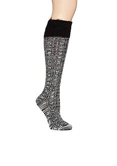 New Directions® Feather Top Knee High Socks - Single Pair