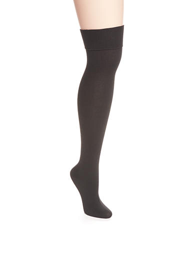New Directions® Jersey Turn Cuff Over The Knee Socks - Single Pair