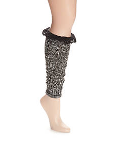 New Directions® Slouch Marl Legwarmer With Lace - Single Pair