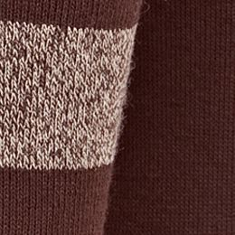 Handbags & Accessories: New Directions: Brown New Directions Rugby Stripe 2 Pack of Socks