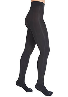 Bootights® by Shelby Mason Chelan Shaper Super Opaque Tights with Attached Ankle Sock - Online Only