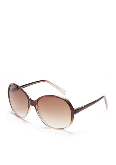 New Directions® Plastic Round Ombre Beach Sunglasses