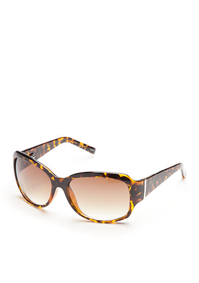 New Directions® Square Tortoise Sunglasses