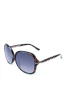 New Directions Feminine Chic Plastic Sunglasses