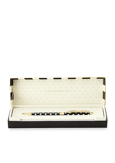 kate spade new york® Black Dots Ballpoint Pen