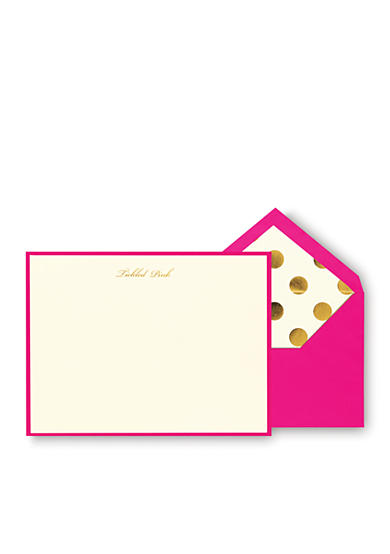 kate spade new york® Tickled Pink Correspondence Cards