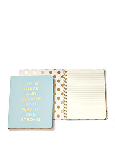 kate spade new york® Quick & Curious Concealed Spiral Notebook