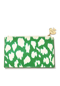 kate spade new york® Painterly Cheetah Pencil Pouch