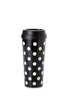 kate spade new york® Black Deco Dots Thermal Mug, 16 oz.