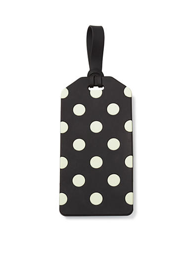kate spade new york® Black Dots Luggage Tag in Le Pavilion