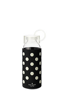 kate spade new york® Black Dots Water Bottle