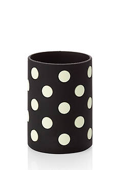 kate spade new york® Black White Dots Let's Chill Drink Coozie