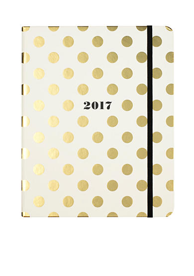 kate spade new york® 17-Month Large Gold Dots Agenda