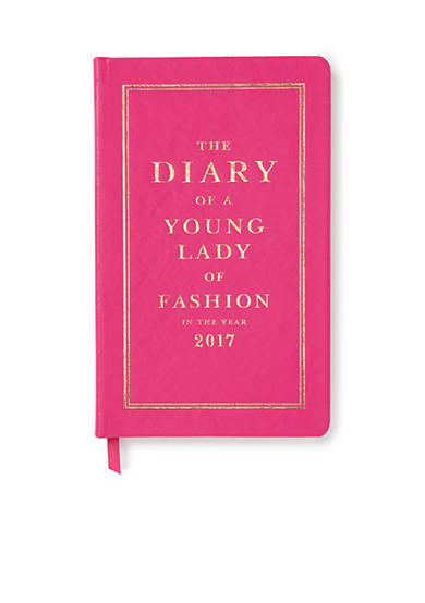 kate spade new york® 2017 Pencil it in 12-month Agenda - Pink Diary