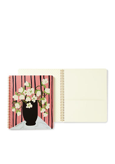 kate spade new york® Large Spiral Notebook, Large Bouquet