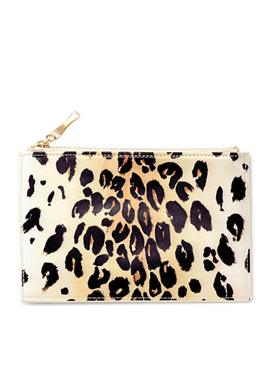 kate spade new york® Pencil Pouch, Leopard