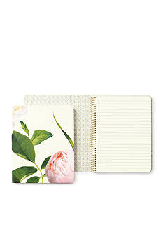 kate spade new york® Floral Concealed Spiral Notebook