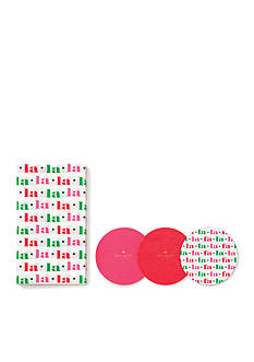 kate spade new york Coaster & Napkin Set FA LA LA LA