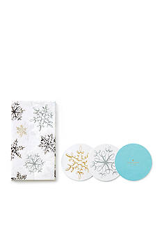 kate spade new york Snowflake and Napkin Set
