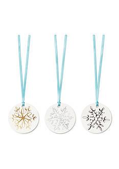 kate spade new york Kate Spade New York Snowflake Gift Tags