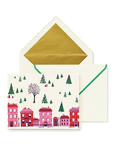 kate spade new york Holiday Village Card Set
