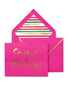 kate spade new york Season's Greetings Holiday Card Set