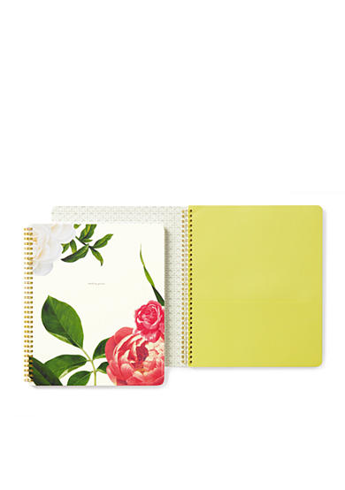 kate spade new york® Floral Large Spiral Notebook