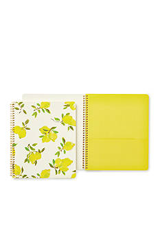 kate spade new york Large Spiral Notebook- Lemon