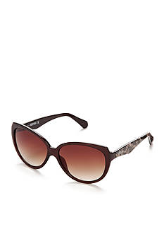 Kenneth Cole Reaction Round Cat Eye Sunglasses