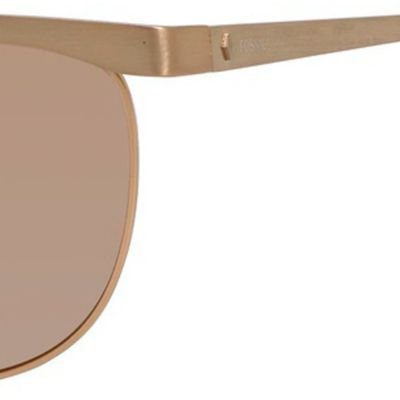 Handbags & Accessories: Fossil Accessories: Brown Rose Mirror Fossil Aviator Sunglasses