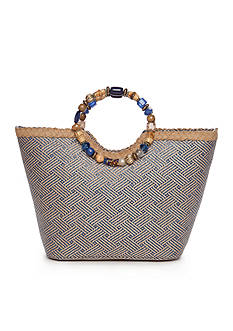 Kim Rogers® Beaded Ring Tote