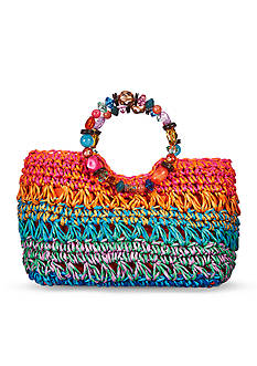 Kim Rogers Multi Jeweled Ring Satchel