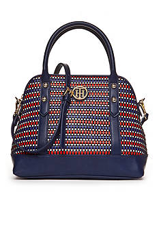 Tommy Hilfiger® Hadley Woven Dome Satchel