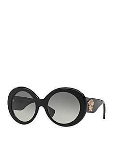 Versace Medusa Round Glam Sunglasses