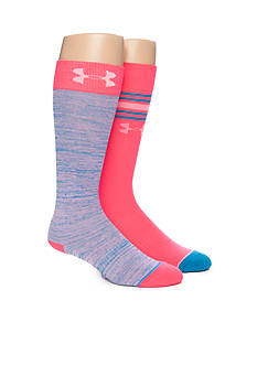 Under Armour® Anniversary Knee High Socks - 2 Pack