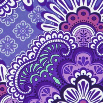 Handbags & Accessories: Vera Bradley What's New?: Lilac Tapestry Vera Bradley Mini Notebook with Pocket
