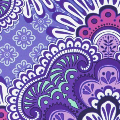 Handbags & Accessories: Vera Bradley What's New?: Lilac Tapestry Vera Bradley Notebook with Pocket