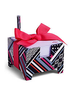 Vera Bradley Note Cube and Mini Pen