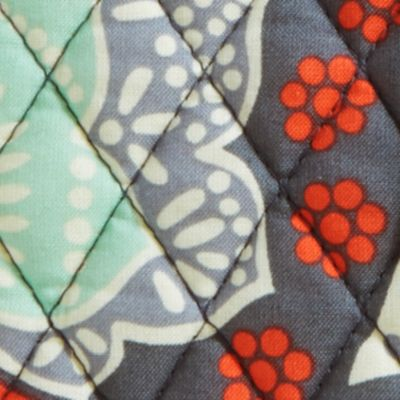 Handbags and Wallets: Gray Vera Bradley Signature Turn-Lock Wallet