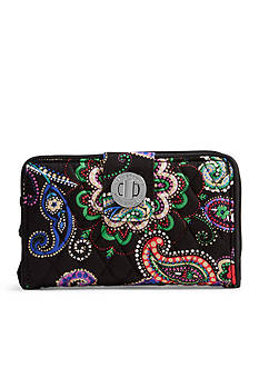 Vera Bradley Signature Turn-Lock Wallet