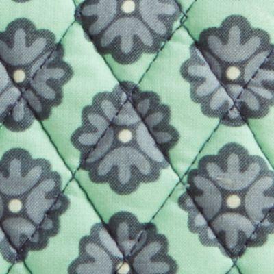 Handbags and Wallets: Green Vera Bradley Signature Turn-Lock Wallet