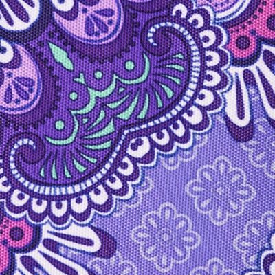 gift accessories for petites: Lilac Tapestry Vera Bradley Pencil Pouch