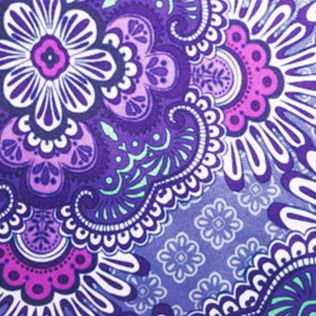Vera Bradley Luggage: Lilac Tapestry Vera Bradley Lighten Up Large Wheeled Duffel Bag