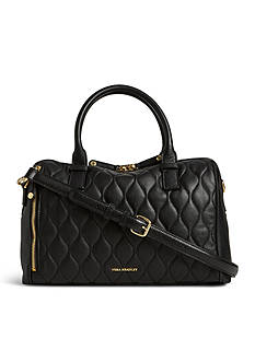 Vera Bradley Quilted Leather Marlo Satchel